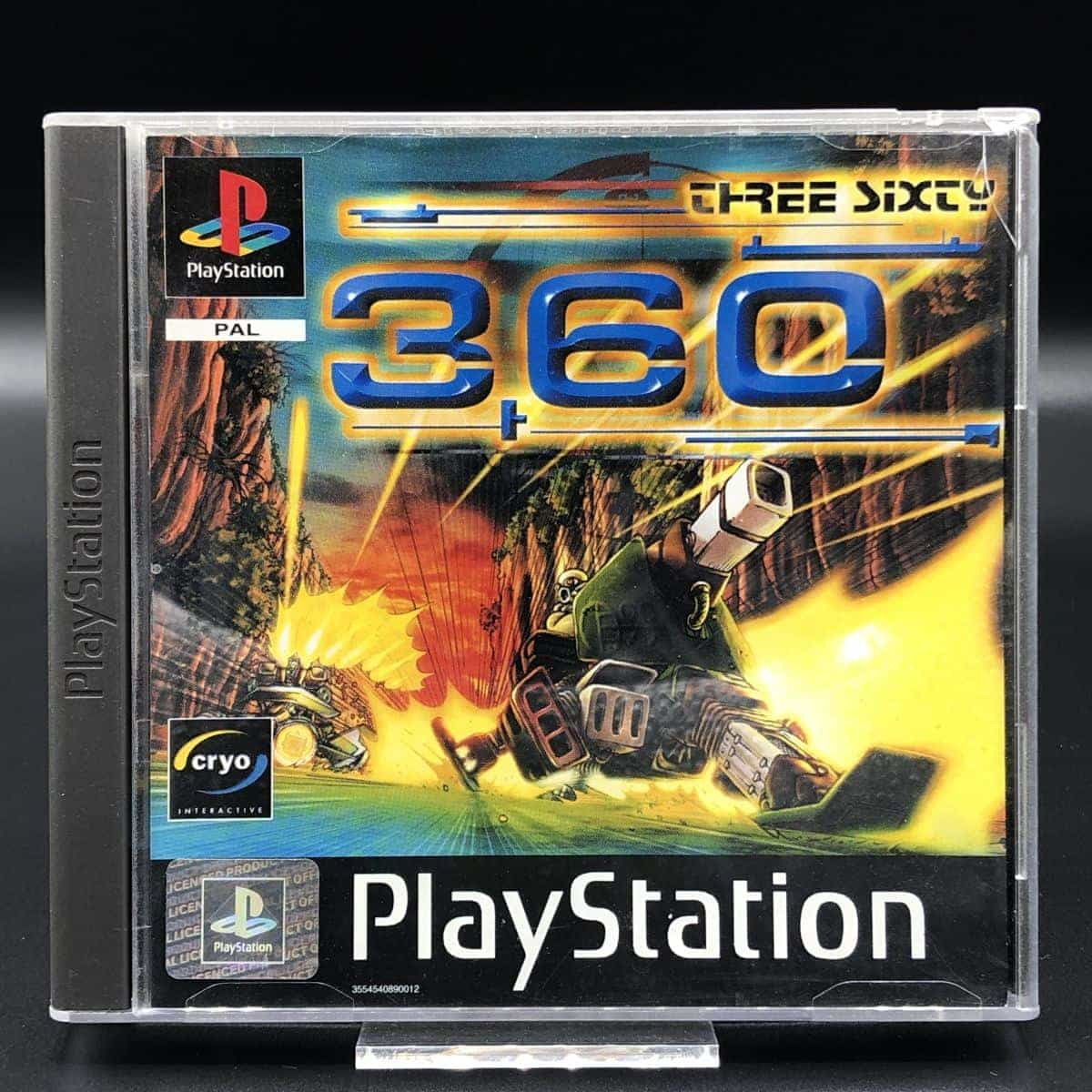 PS1 360: Three Sixty (Komplett) (Gut) Sony PlayStation 1