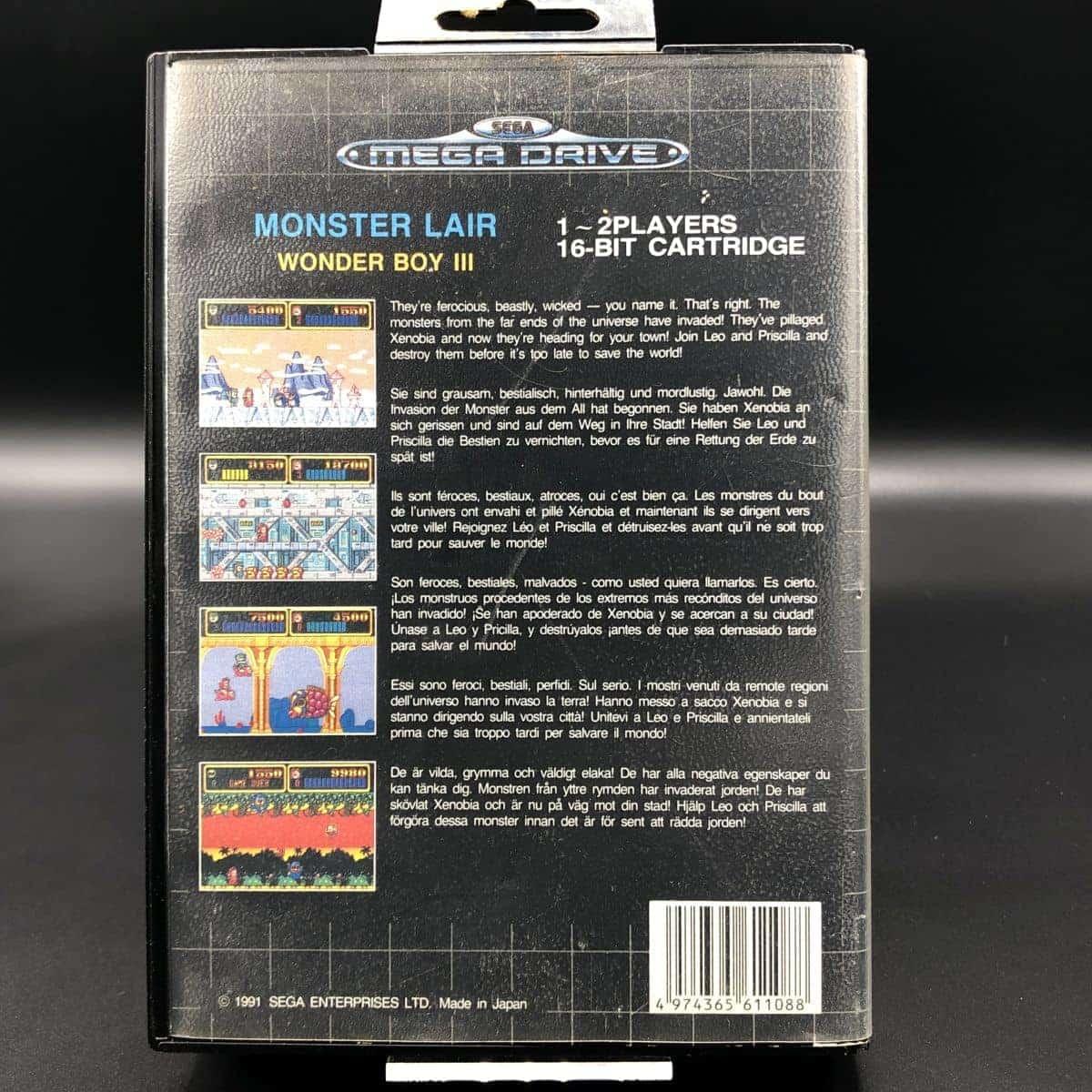 Wonder Boy III: Monster Lair (ohne Anleitung) (Gut) Sega Mega Drive
