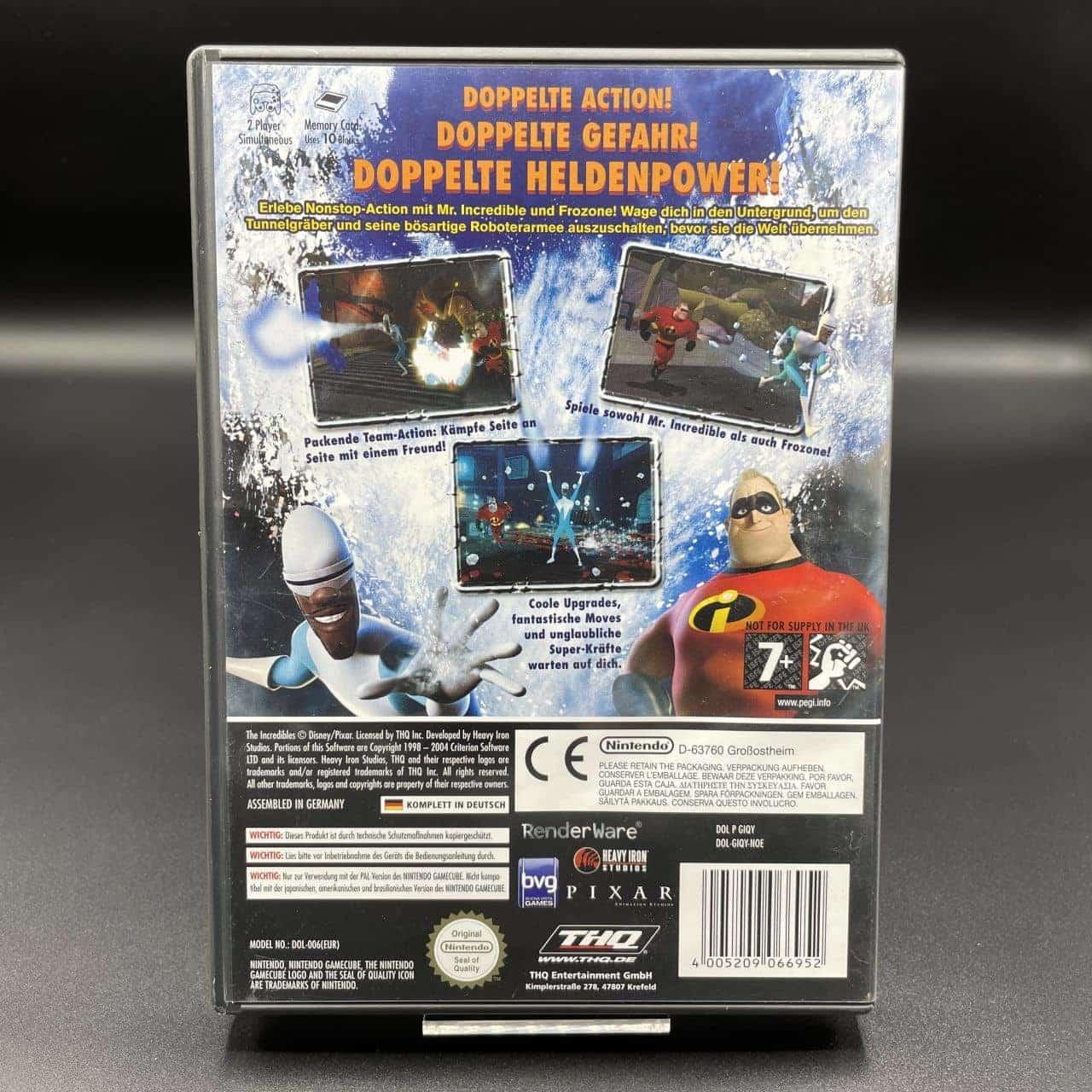 GC Die Unglaublichen: Der Angriff des Tunnelgräbers (Komplett) (Sehr gut) Nintendo GameCube