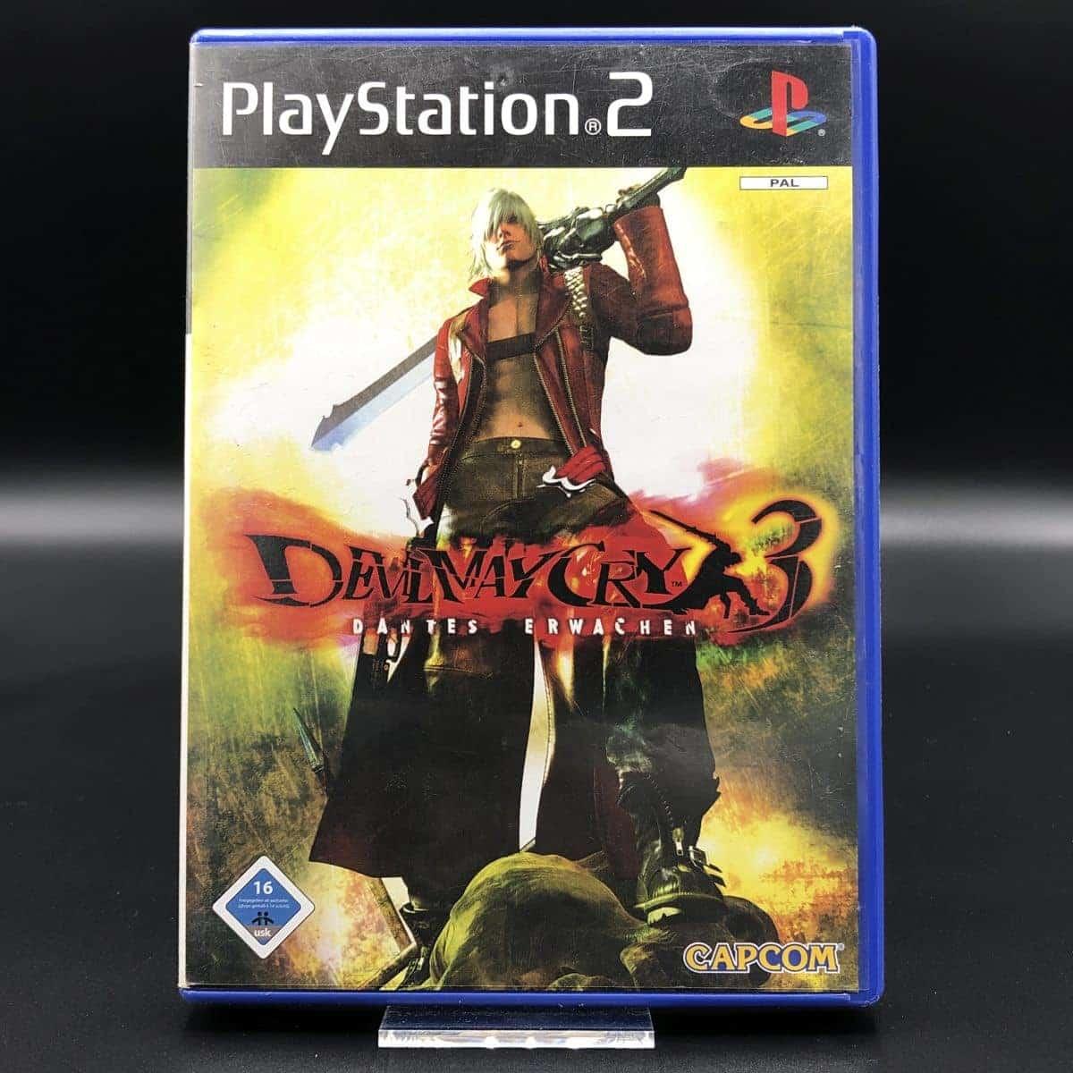 PS2 Devil May Cry 3: Dante's Erwachen (Komplett) (Gut) Sony PlayStation 2