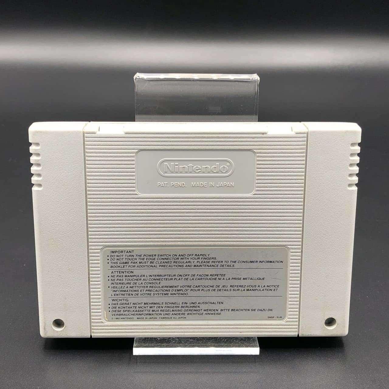 SNES Joe & Mac 3 (Modul) (Gebrauchsspuren) Super Nintendo