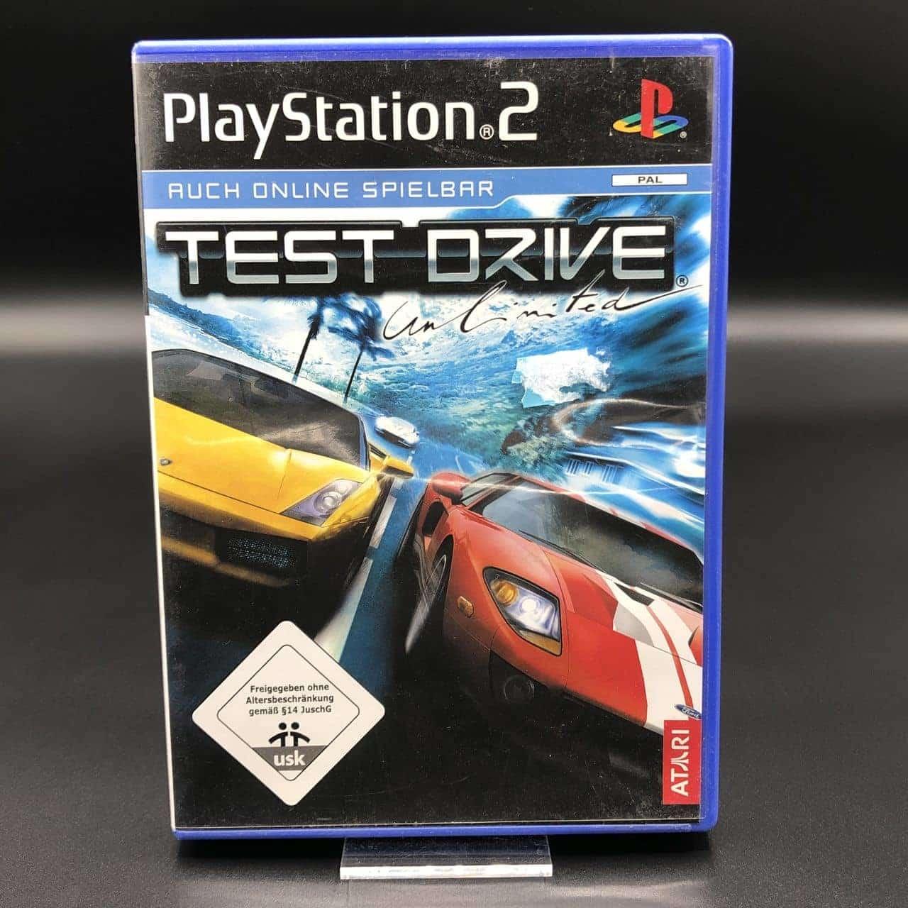 PS2 Test Drive Unlimited (Komplett) (Gut) Sony PlayStation 2