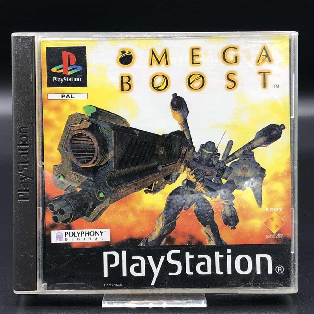 PS1 Omega Boost (Komplett) (Sehr gut) Sony PlayStation 1
