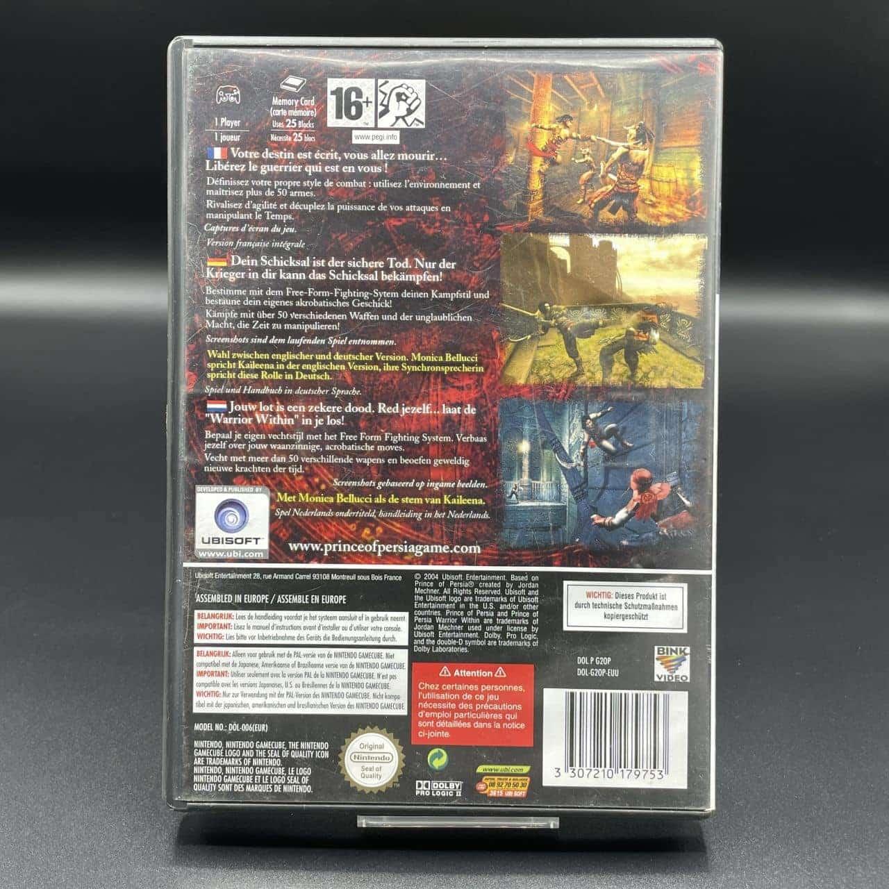 GC Prince of Persia: Warrior Within (Komplett) (Gebrauchsspuren) Nintendo GameCube