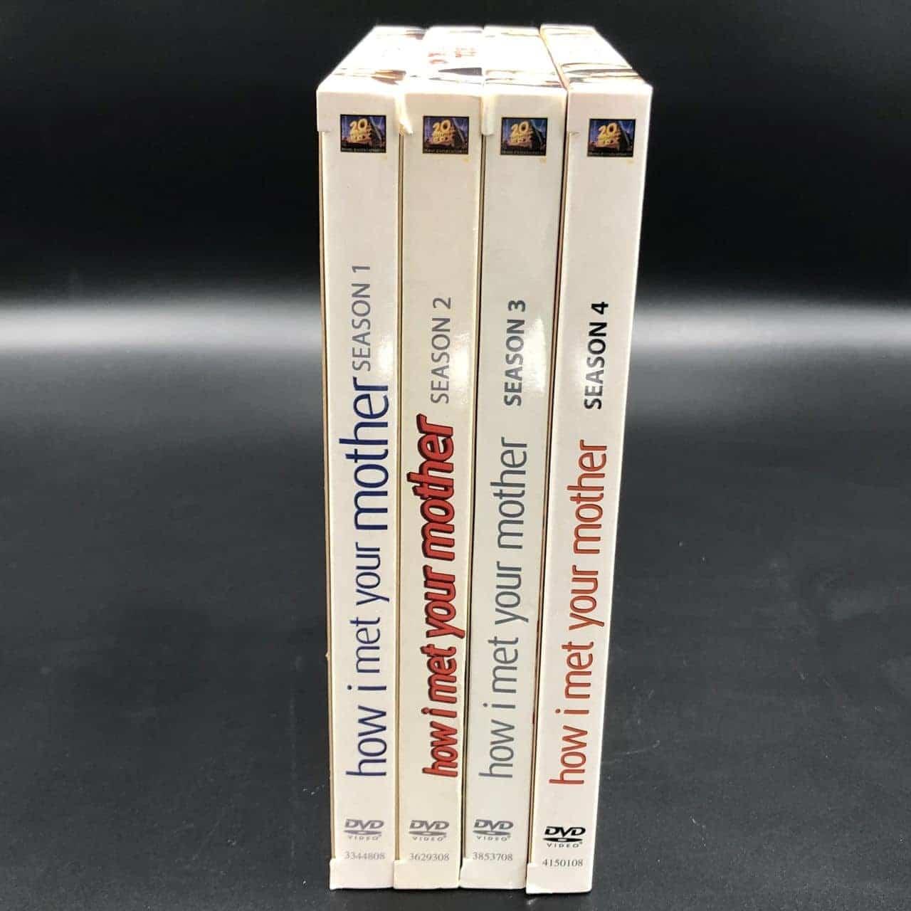 How i met your Mother Serie, Staffel 1-4, DVD