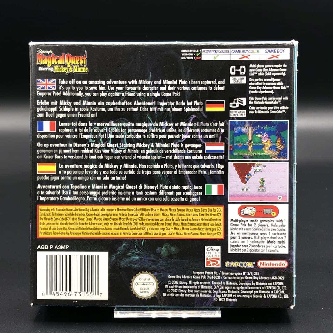 GBA Disney's Magical Quest Starring Mickey & Minnie (Komplett) (Sehr gut) Game Boy Advance
