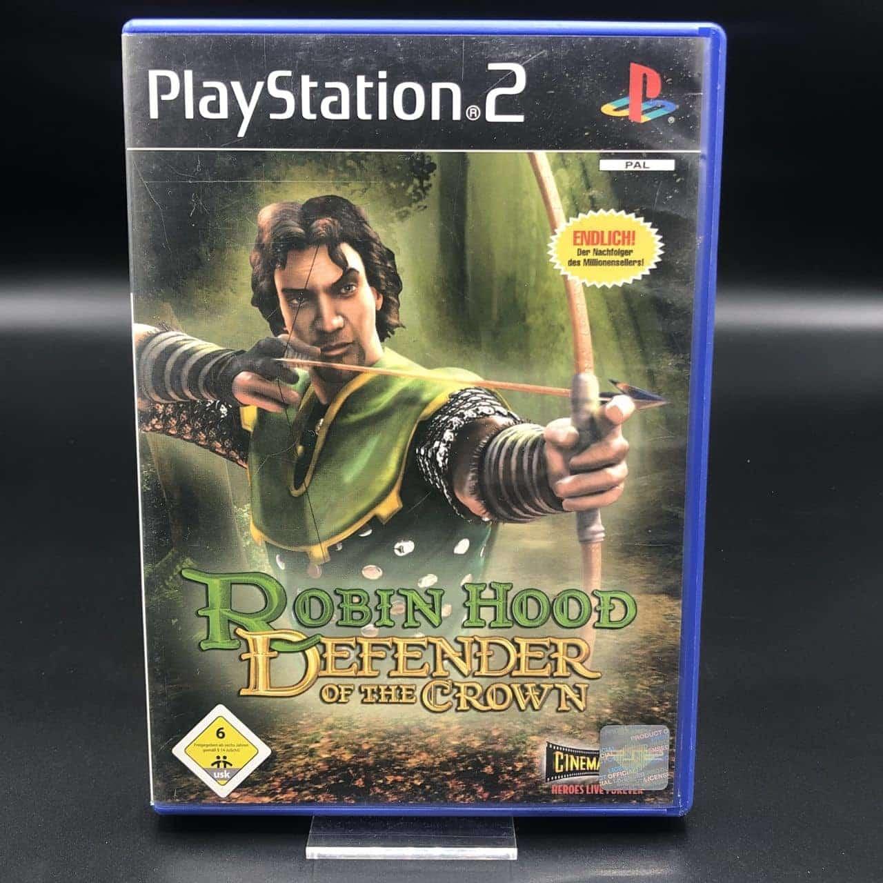 PS2 Robin Hood: Defender of the Crown (Komplett) (Gebrauchsspuren) Sony PlayStation 2