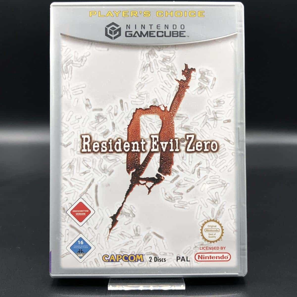 GC Resident Evil Zero (Player's Choice) (Komplett) (Sehr gut) Nintendo GameCube (FSK18)