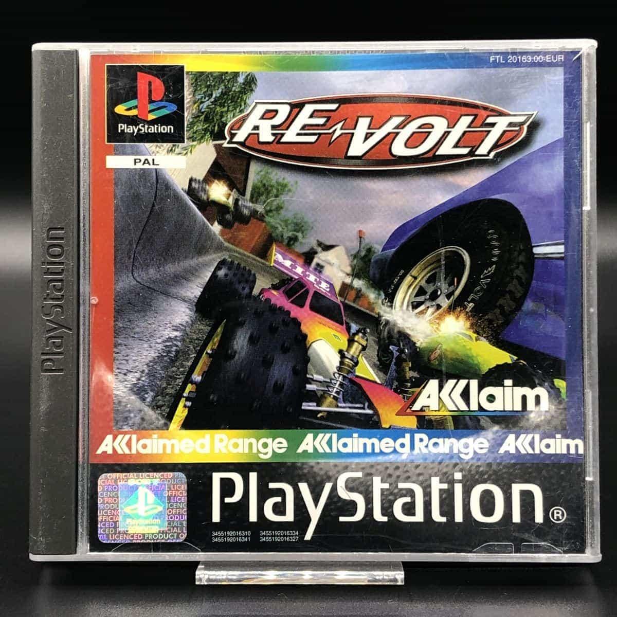 PS1 Re-Volt (Acclaim Range) (Komplett) (Sehr gut) Sony PlayStation 1