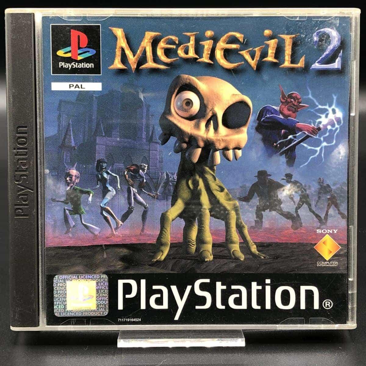 PS1 MediEvil 2 (Komplett) (Gebrauchsspuren) Sony PlayStation 1