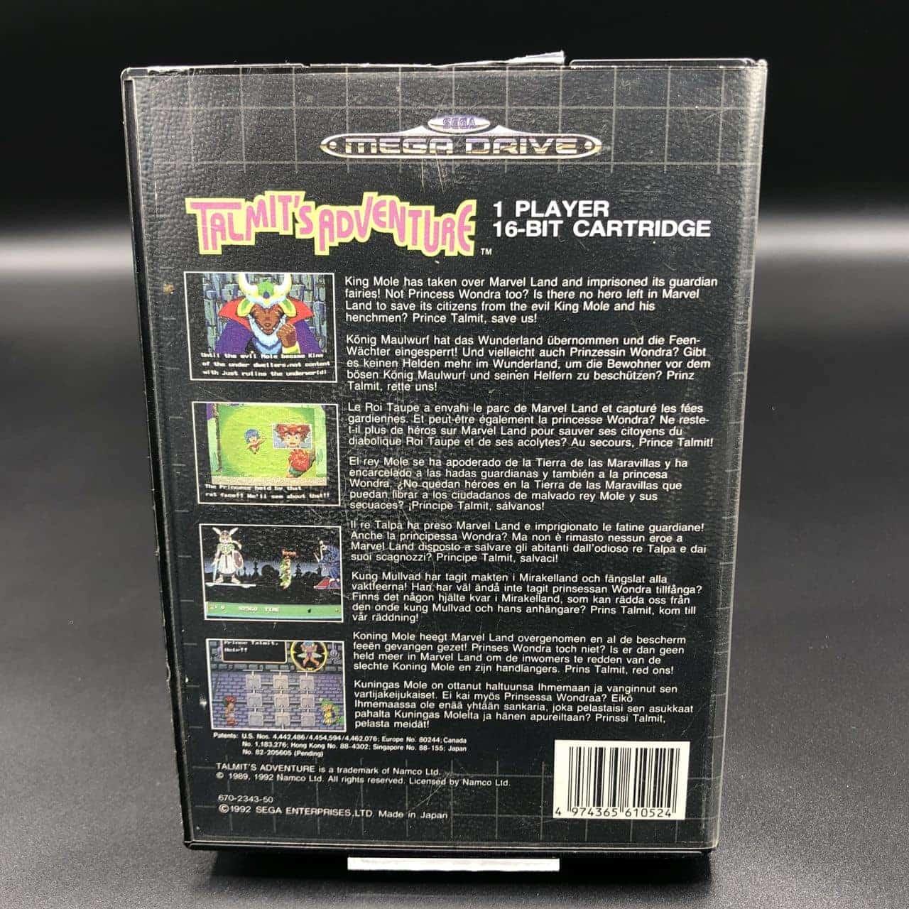Talmit's Adventure (ohne Anleitung) (Sehr gut) Sega Mega Drive