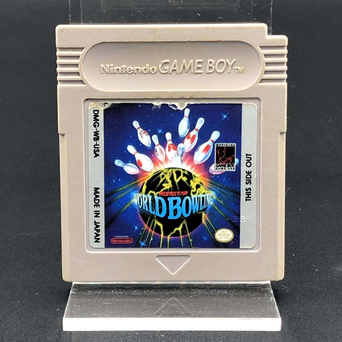 GB World Bowling (Import) (Modul) (Gebrauchsspuren) Nintendo Game Boy
