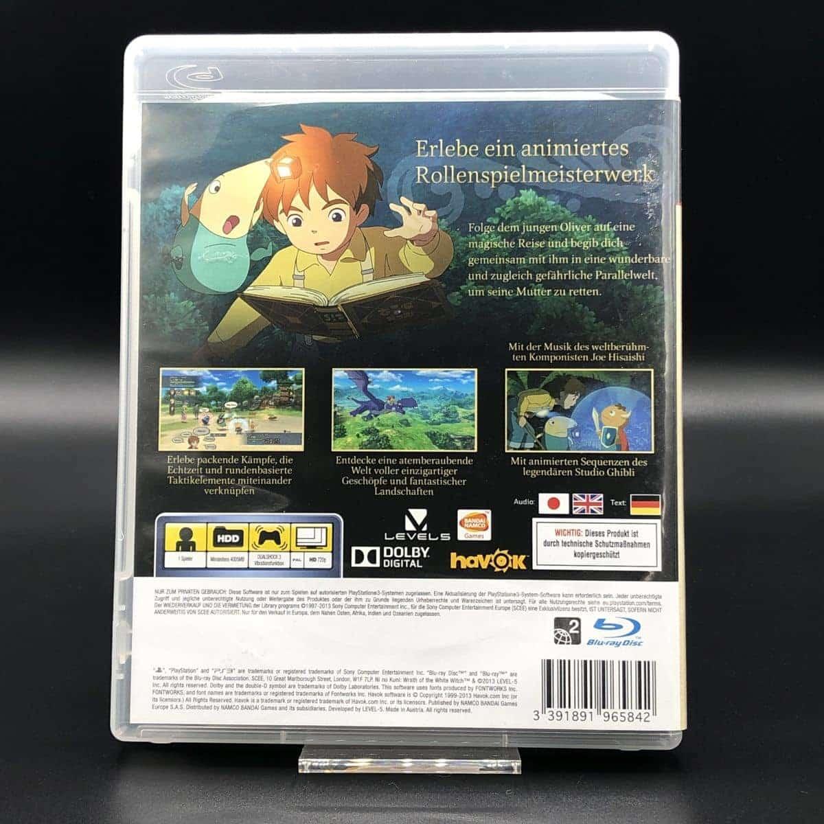 PS3 Ni no Kuni: Der Fluch der weissen Königin (Komplett) (Sehr gut)