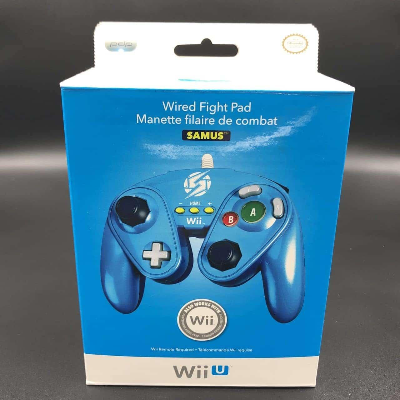 Wired Fight Pad: Samus (NEU) Nintendo WiiU