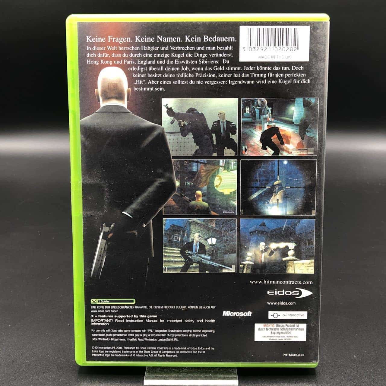XBC Hitman: Contracts (ohne Anleitung) (Sehr gut) Microsoft Xbox Classic (FSK18)
