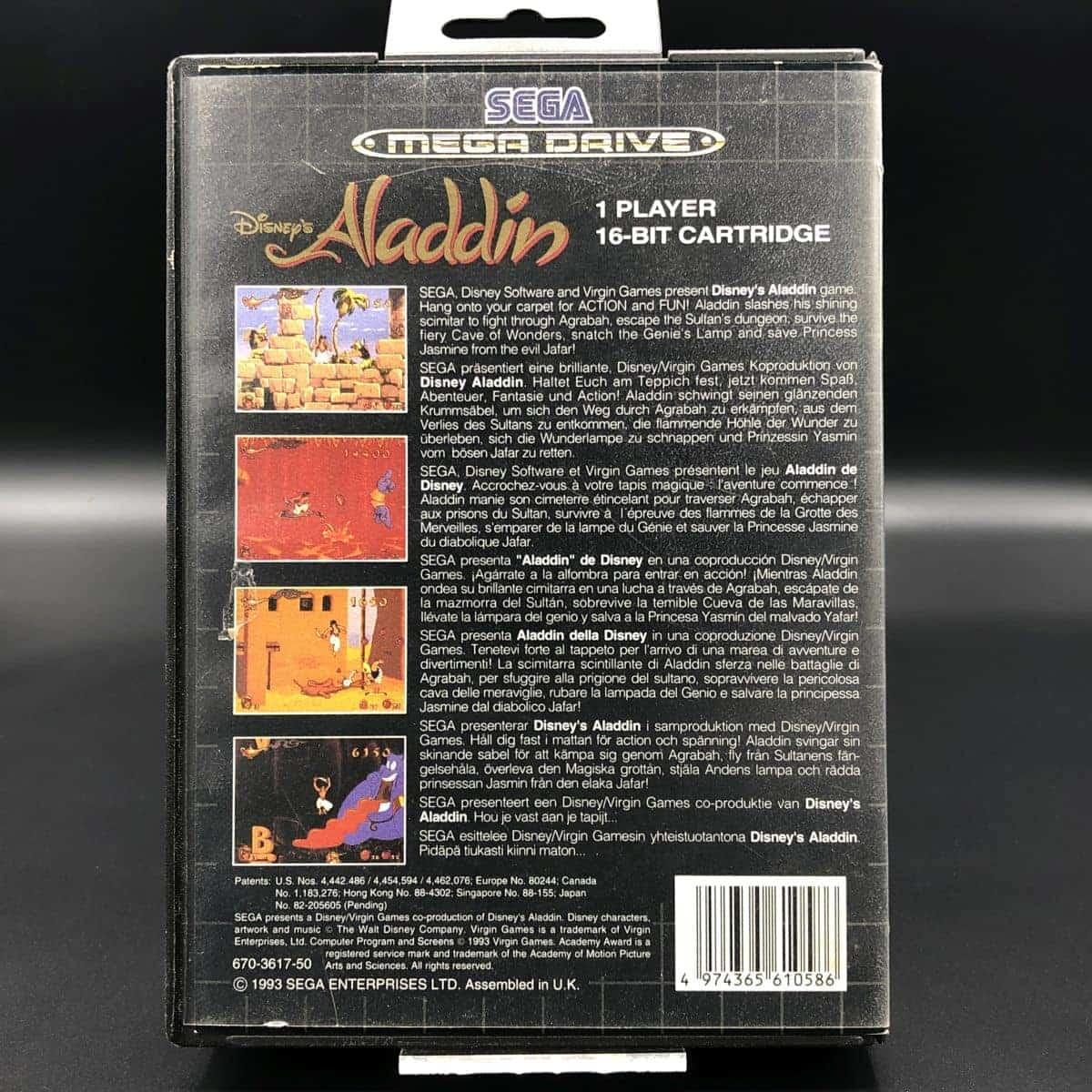 Disney's Aladdin (Komplett) (Sehr gut) Sega Mega Drive