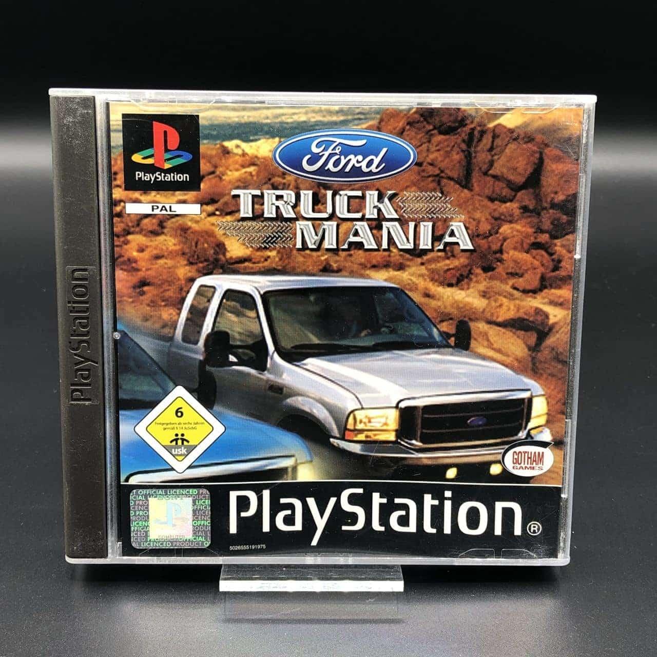 PS1 Ford Truck Mania (Komplett) (Sehr gut) Sony PlayStation 1