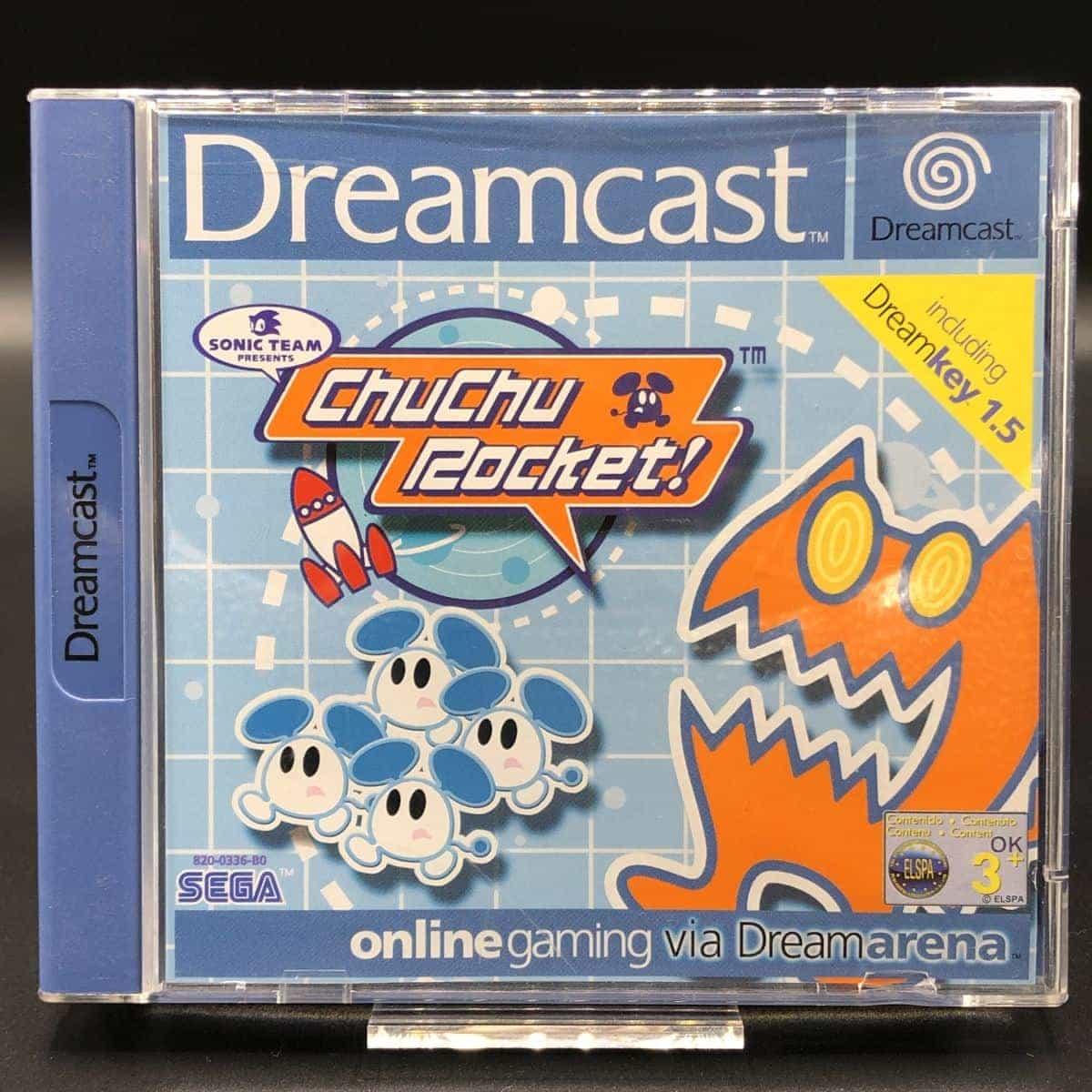 ChuChu Rocket! (Komplett) (Sehr gut) Sega Dreamcast