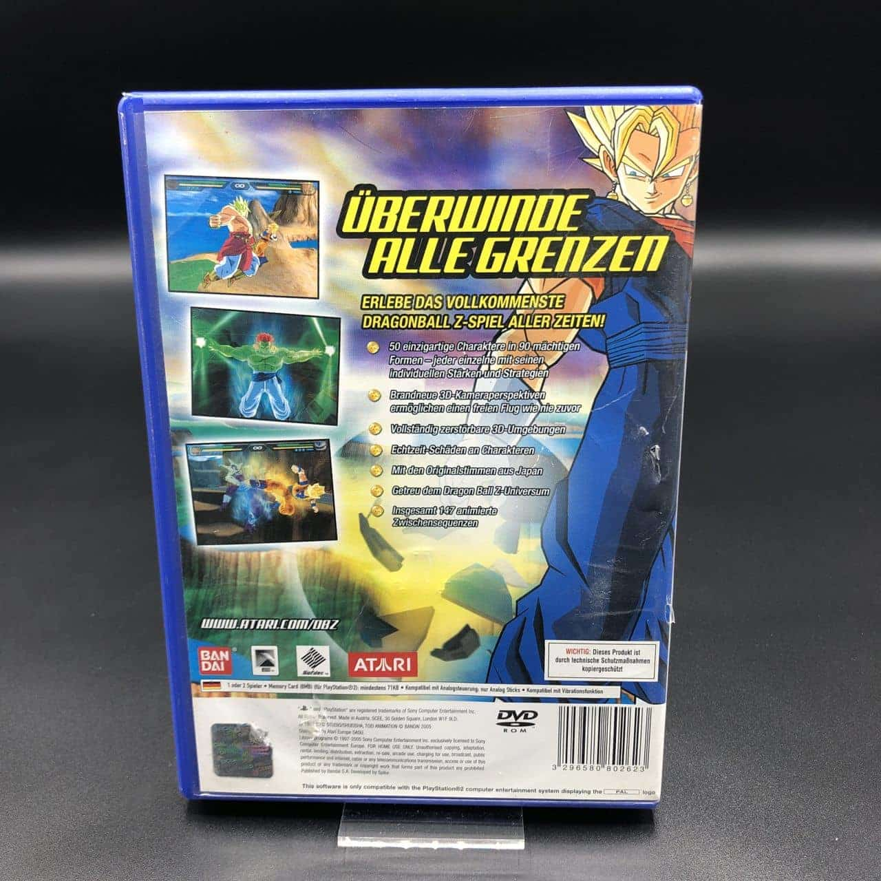PS2 Dragon Ball Z: Budokai Tenkaichi (Komplett) (Gebrauchsspuren) Sony PlayStation 2
