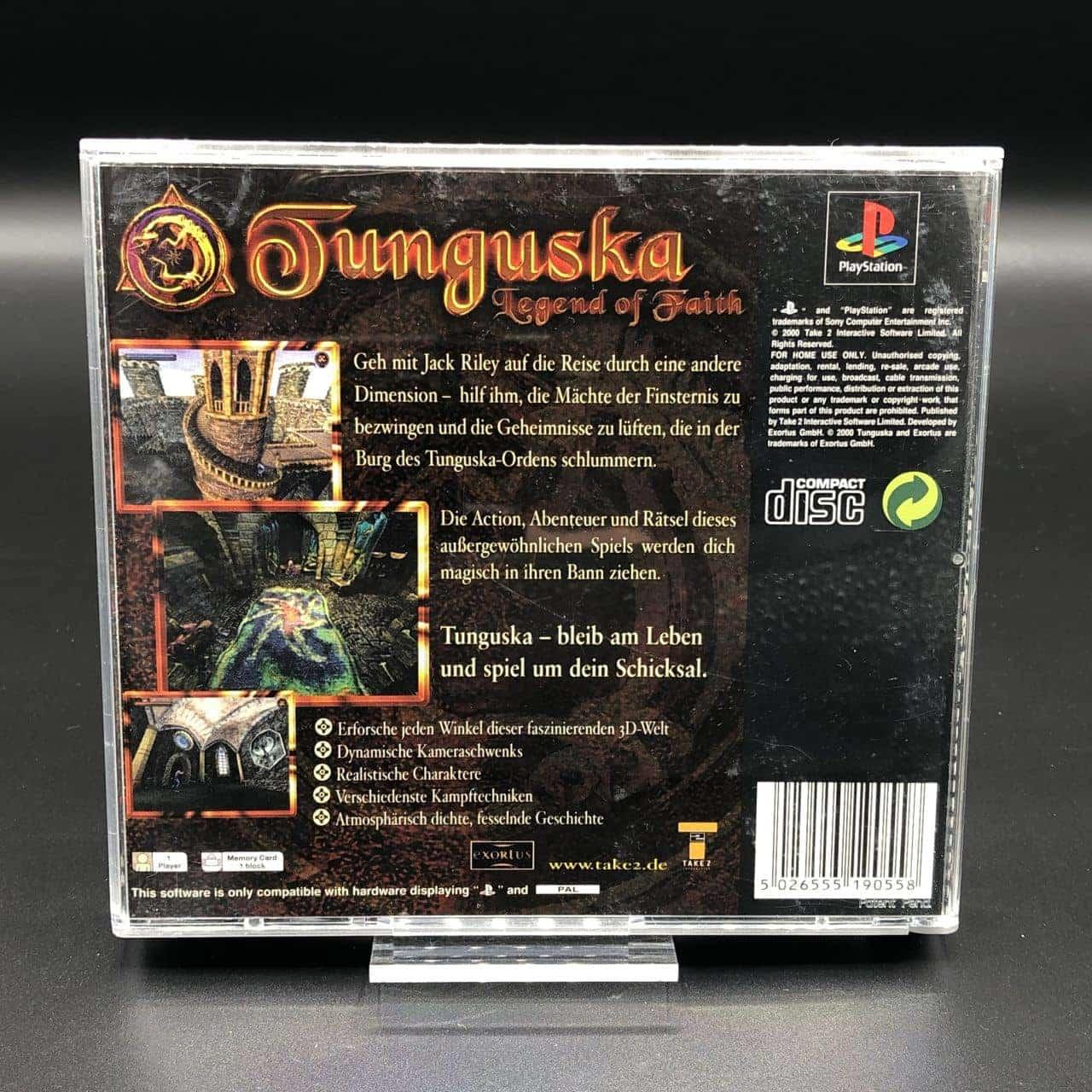 PS1 Tunguska: Legend of Faith (Komplett) (Gut) Sony PlayStation 1
