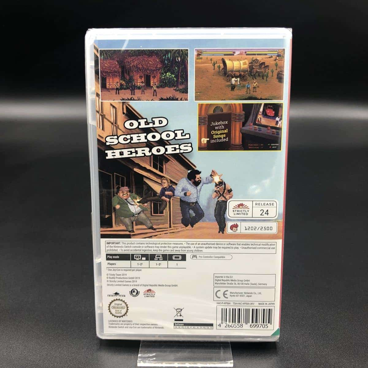 Bud Spencer and Terence Hill - Slaps and Beans (NEU) Nintendo Switch