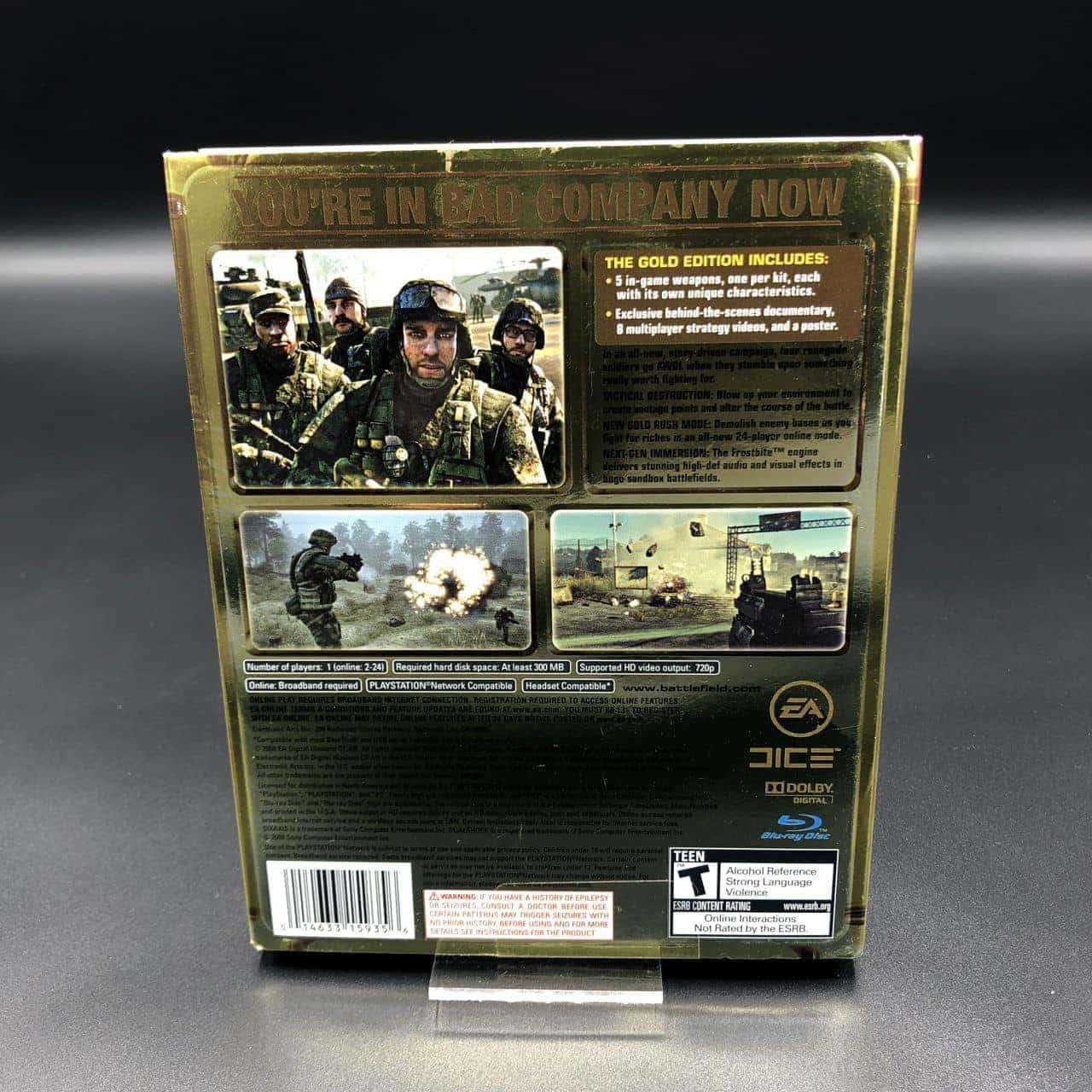 PS3 Battlefield: Bad Company (Import) (Gold Edition) (Komplett) (Sehr gut) Sony PlayStation 3 (FSK18)