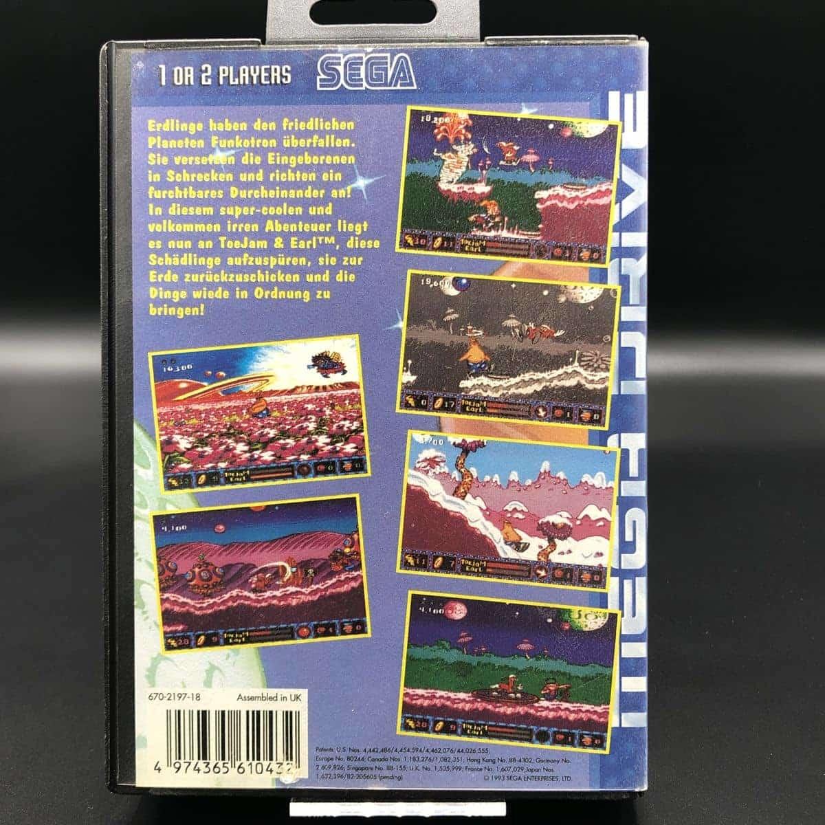 ToeJam & Earl in Panic on Funkotron (ohne Anleitung) (Gut) Sega Mega Drive