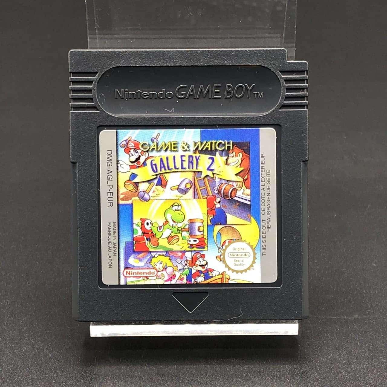GBC Game & Watch Gallery 2 (Modul) (Sehr gut) Nintendo Game Boy Color