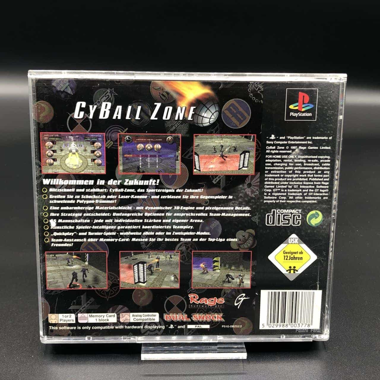 PS1 CBZ CyBall Zone (ohne Anleitung) (Gut) Sony PlayStation 1
