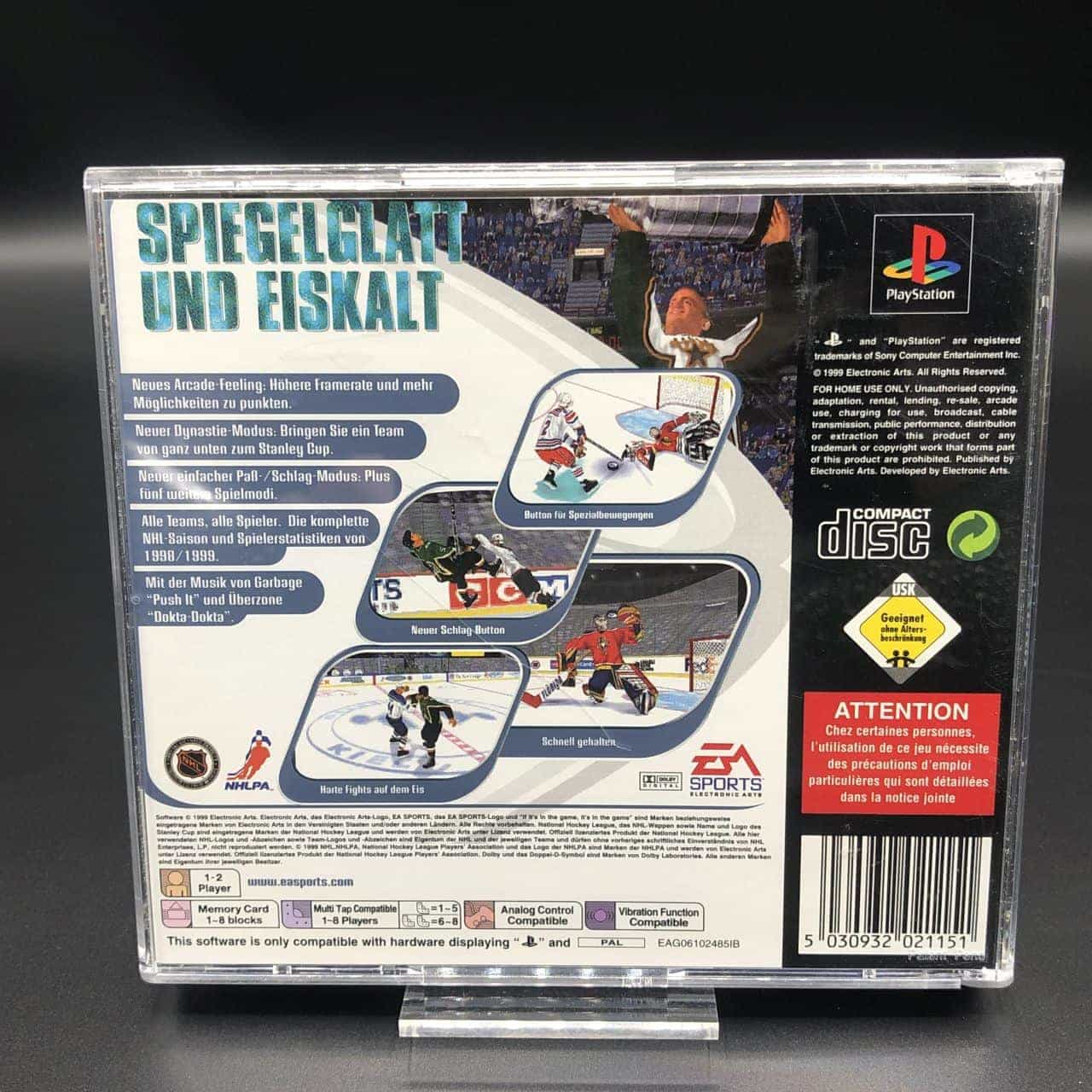 PS1 NHL 2000 (Komplett) (Gut) Sony PlayStation 1