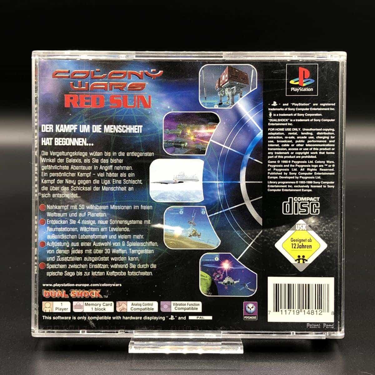 PS1 Colony Wars: Red Sun (Komplett) (Sehr gut) Sony PlayStation 1