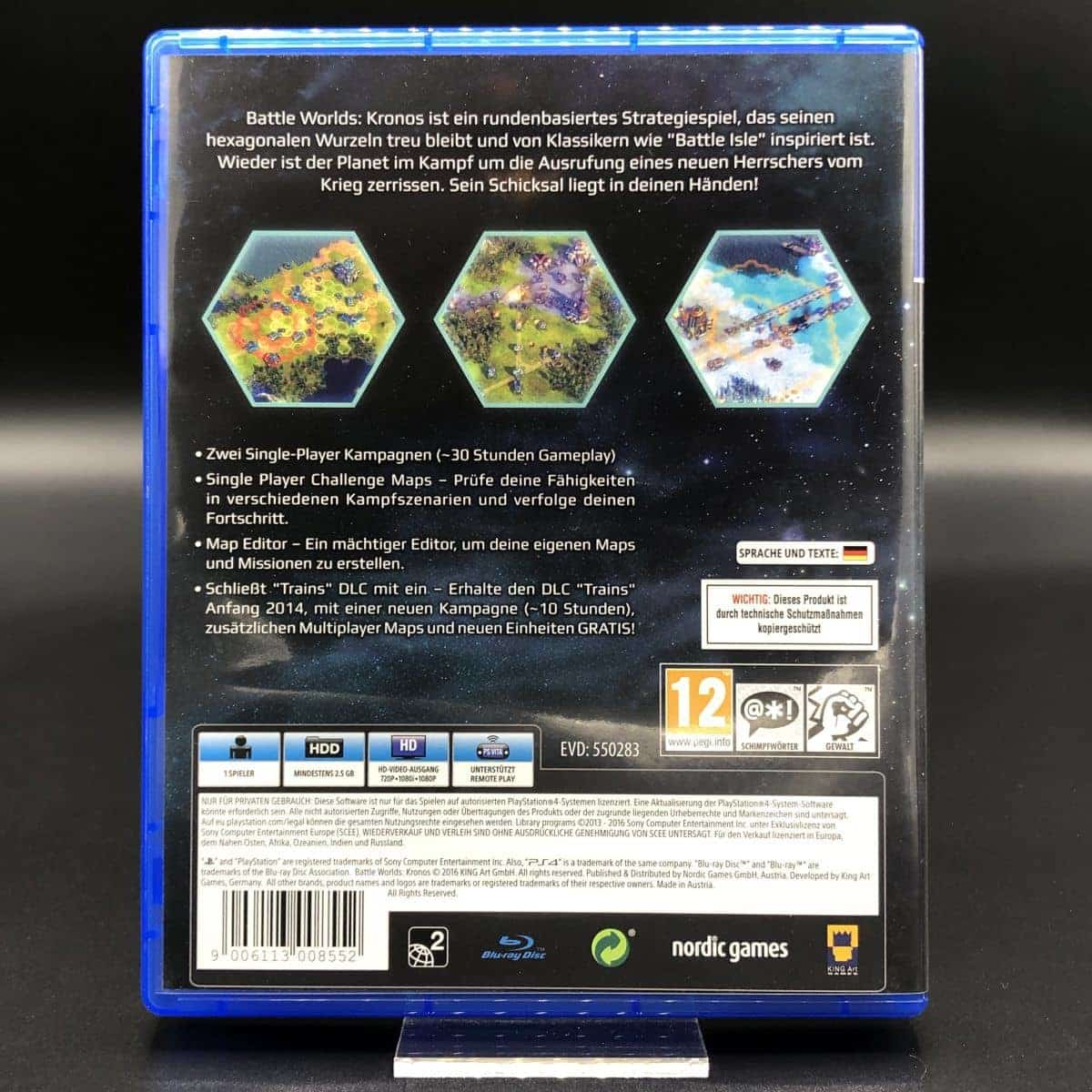 PS4 Battle Worlds Kronos (Sehr gut) Sony PlayStation 4