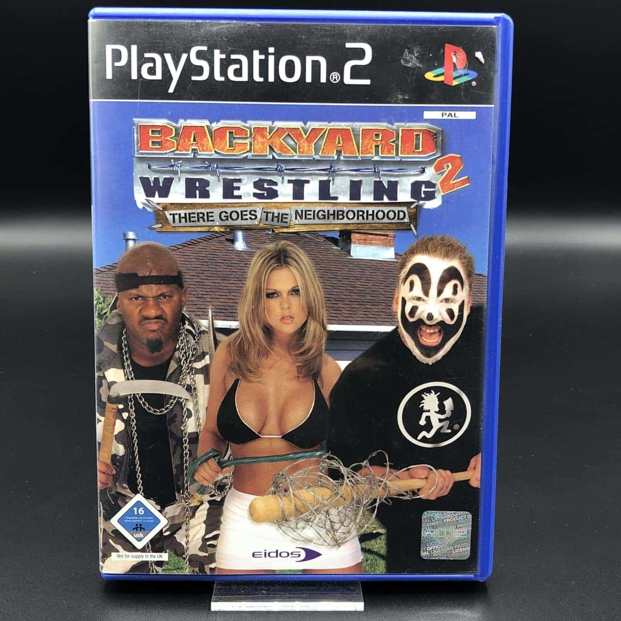 PS2 Backyard Wrestling 2: There Goes the Neighborhood (Komplett) (Sehr gut) Sony PlayStation 2