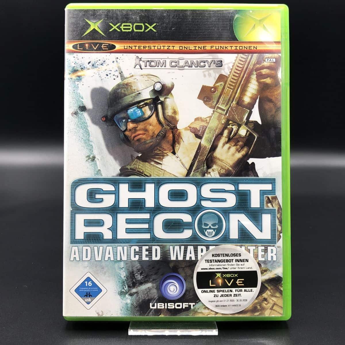 XBC Tom Clancy's Ghost Recon: Advanced Warfighter (Komplett) (Gut) Microsoft Xbox Classic