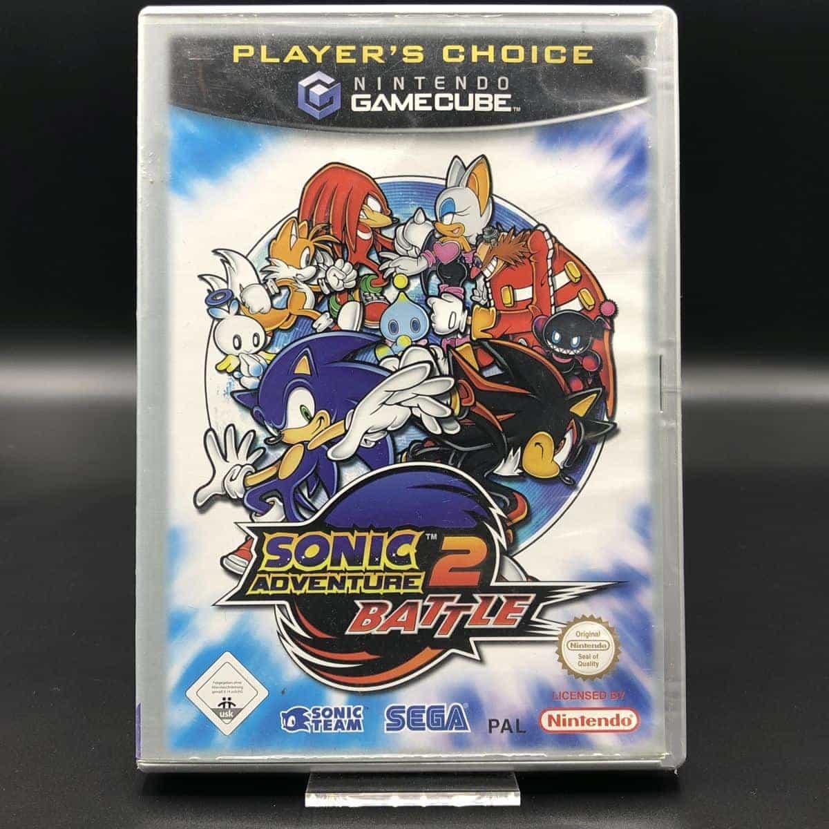 GC Sonic Adventure 2: Battle (Player's Choice) (Komplett) (Gebrauchsspuren) Nintendo GameCube