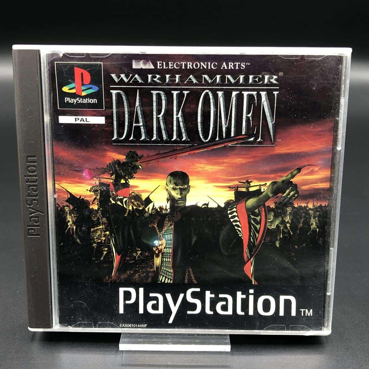 PS1 Warhammer: Dark Omen (ohne Anleitung) (Gut) Sony PlayStation 1 #2