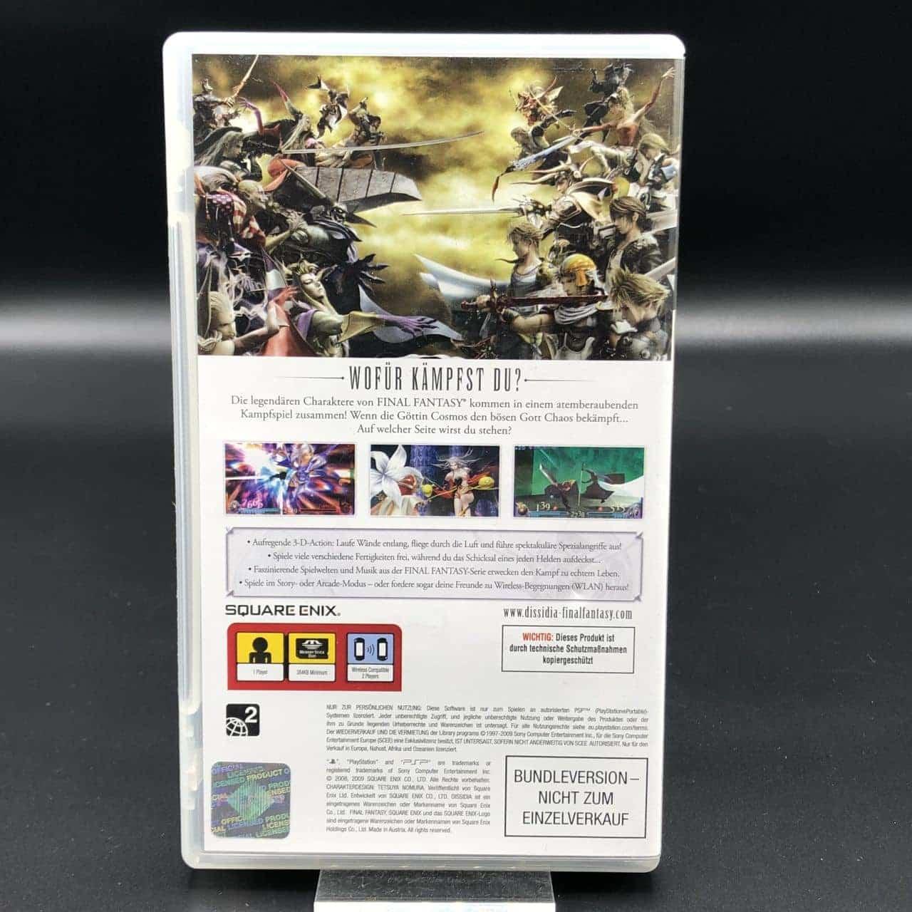 PSP Dissidia: Final Fantasy (Komplett) (Sehr gut) Sony PlayStation Portable