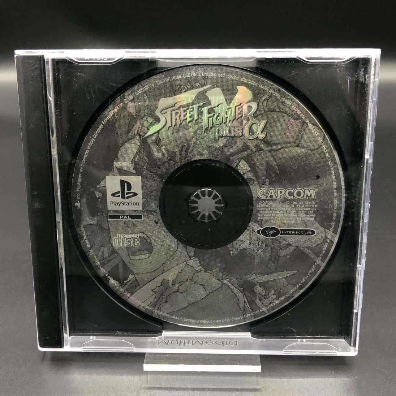 PS1 Street Fighter Plus Alpha (nur CD) (Gebrauchsspuren) Sony PlayStation 1