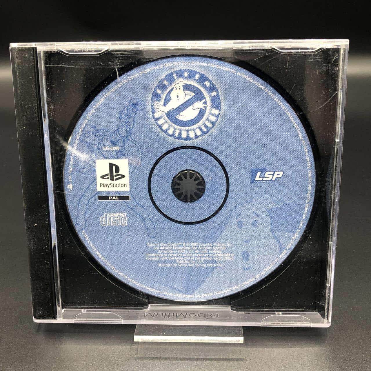 PS1 Extreme Ghostbusters: Ultimate Invasion (nur CD) (Gebrauchsspuren) Sony PlayStation 1