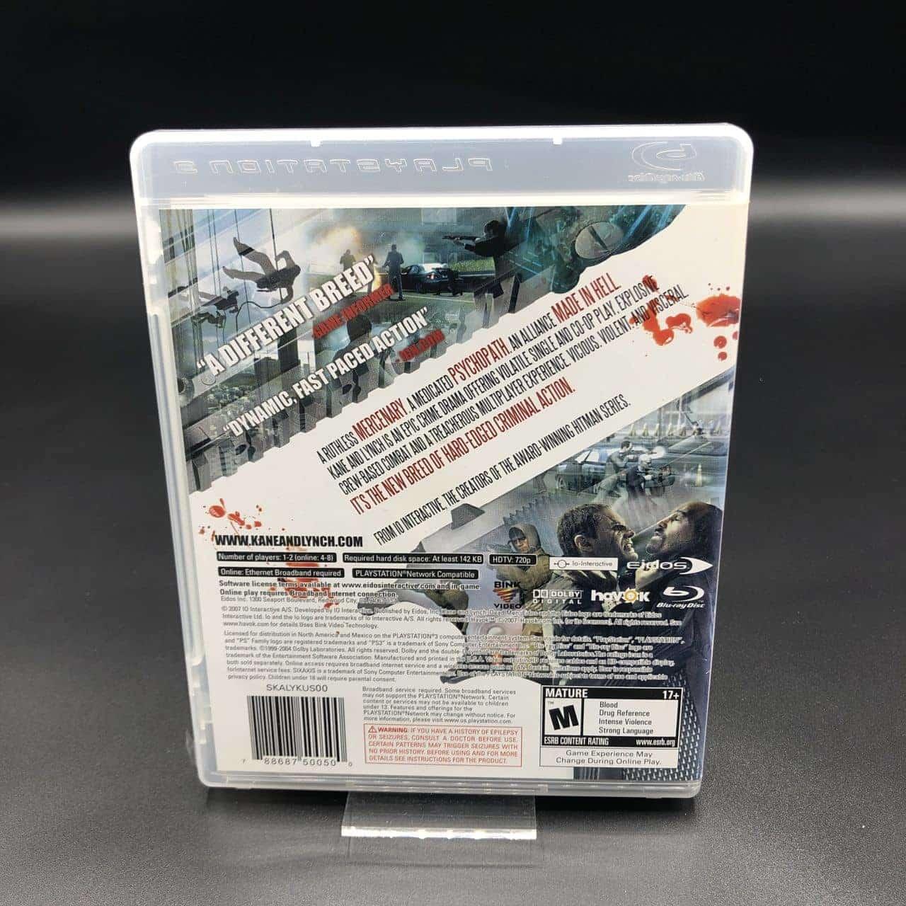 PS3 Kane & Lynch: Dead Men (Import) (Komplett) (Sehr gut) Sony PlayStation 3 (FSK18)