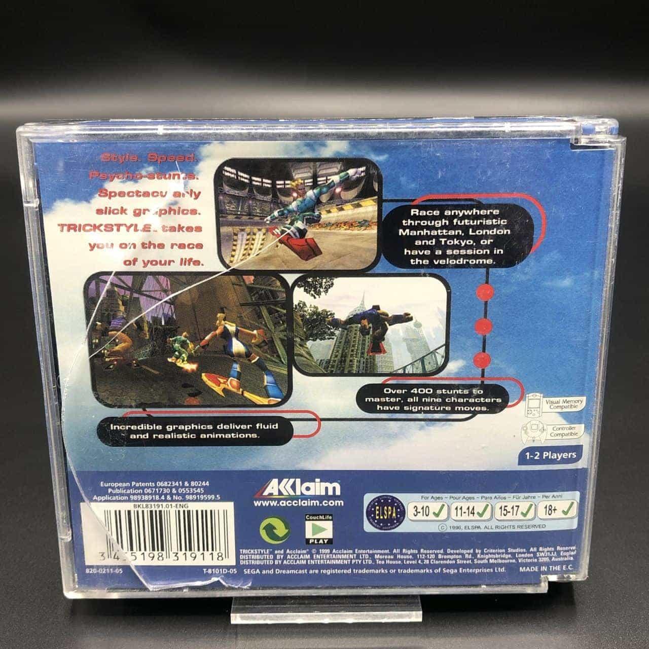 TrickStyle (Komplett) (Gut) Sega Dreamcast
