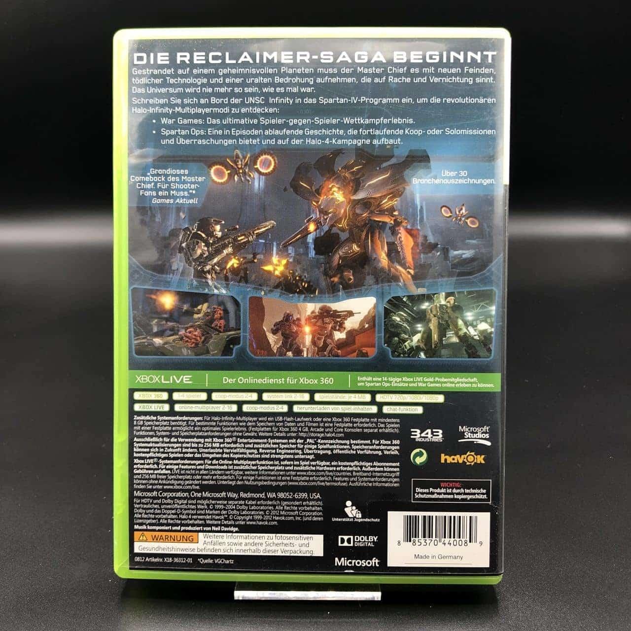 Halo 4 (ohne Anleitung) (Sehr gut) XBOX 360