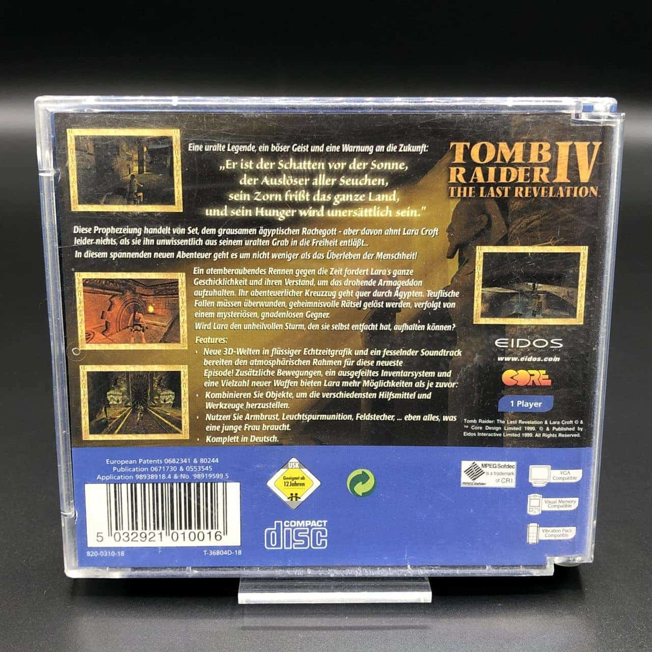 Tomb Raider IV: The Last Revelation (Komplett) (Gebrauchsspuren) Sega Dreamcast