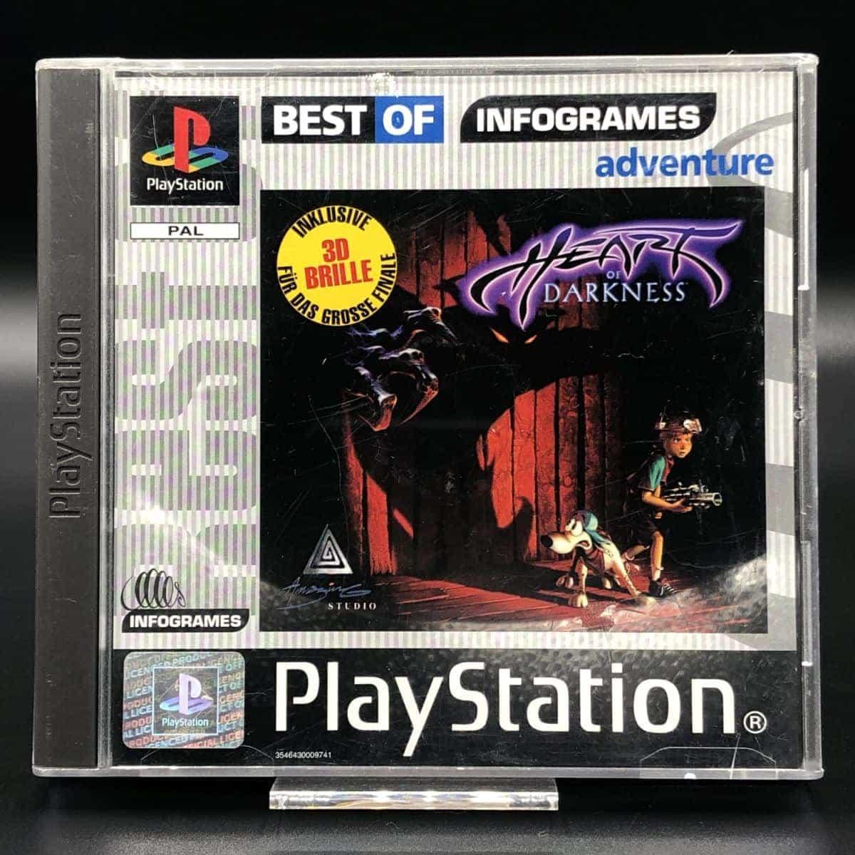 PS1 Heart of Darkness (Best of Infogrames) (Komplett) (Sehr gut) Sony PlayStation 1