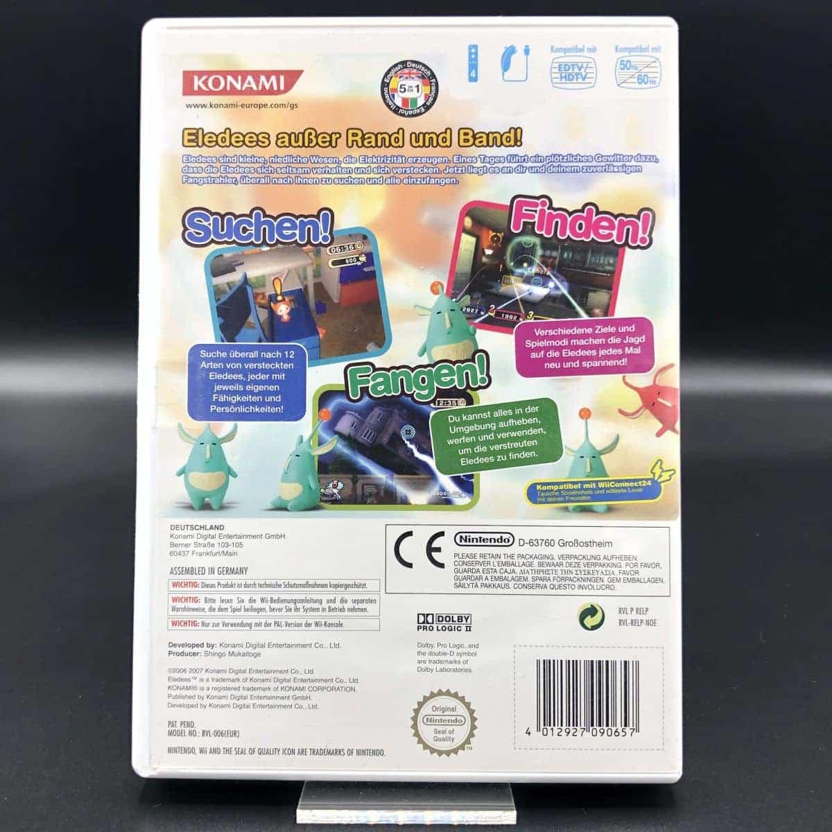 Eledees (Komplett) (Gut) Nintendo Wii
