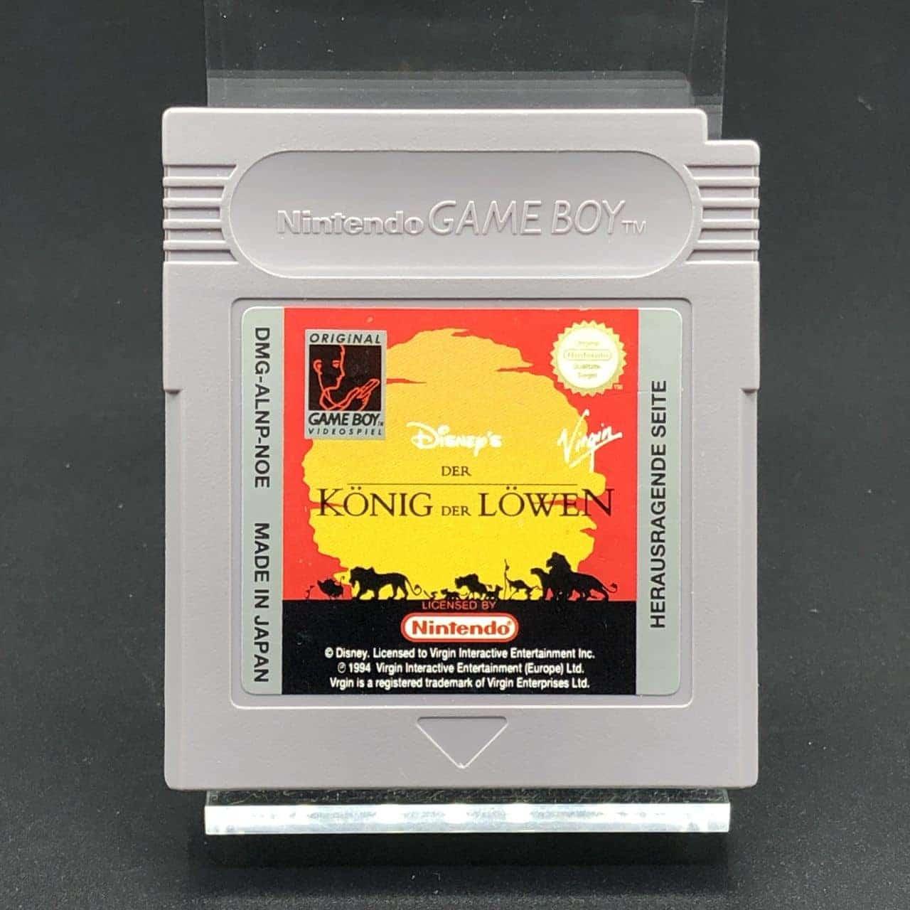 GB Der König der Löwen (Modul) (Gut) Nintendo Game Boy