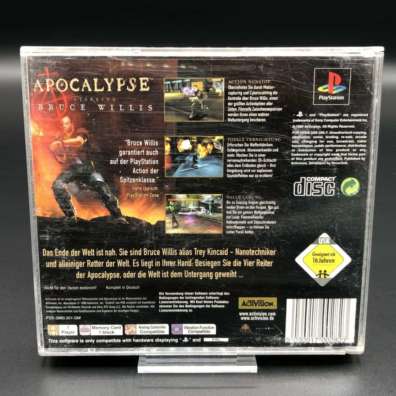 PS1 Apocalypse (Komplett) (Gut) Sony PlayStation 1