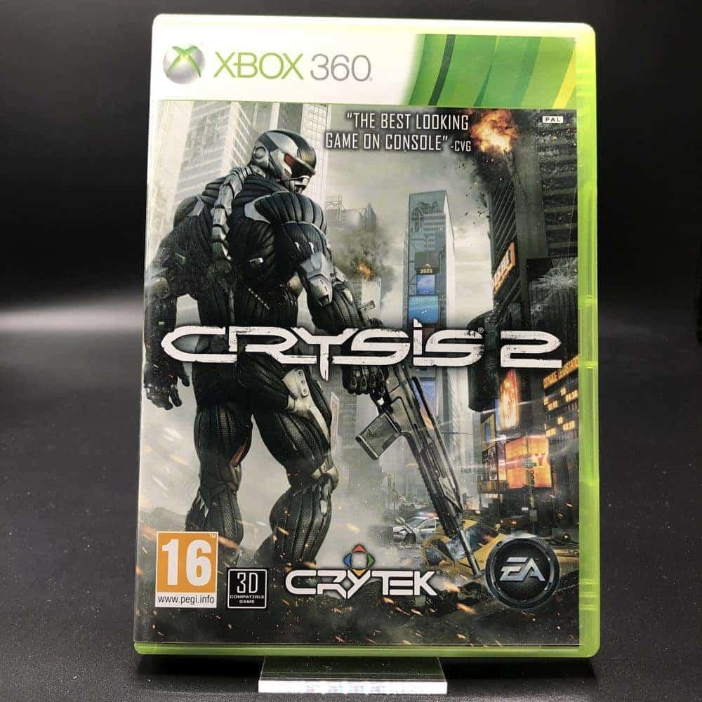 Crysis 2 (Komplett) (Sehr gut) XBOX 360 (FSK18)