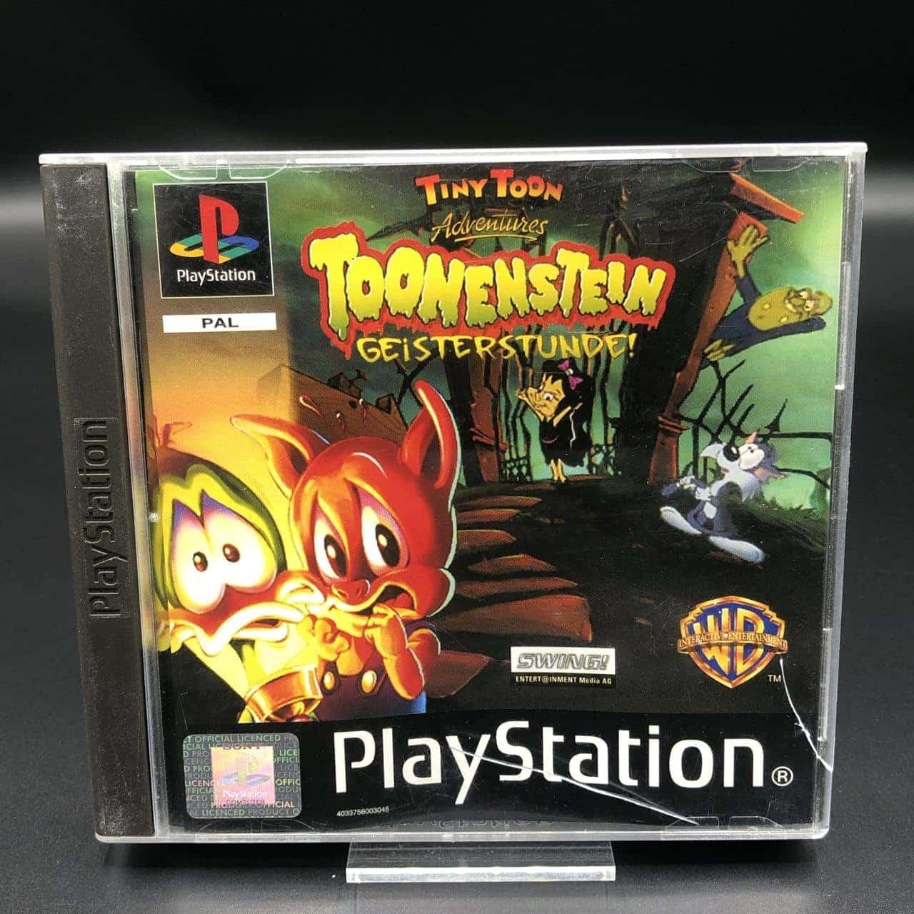 PS1 Toonenstein: Geisterstunde (Komplett) (Sehr gut) Sony PlayStation 1