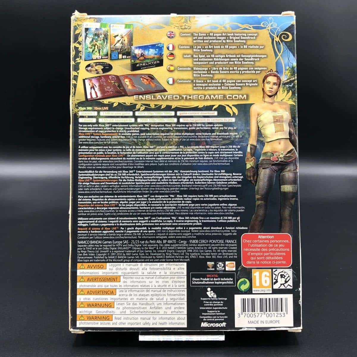 Enslaved: Odyssey to the West (Collector's Edition) (Komplett) (Sehr gut) XBOX 360